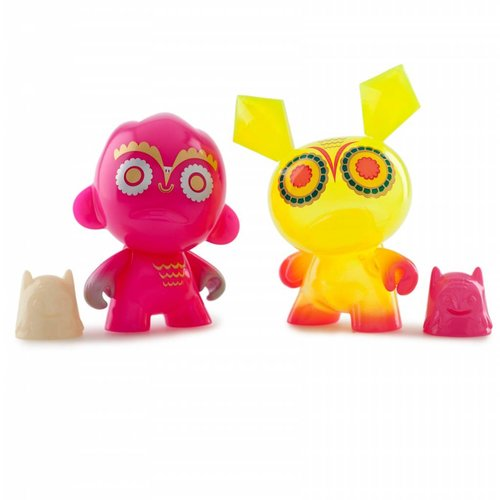 Kidrobot Nightriders Mini series by Nathan Jurevicius - Sealed Case (20 pieces)