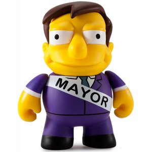 Kidrobot Mayor Quimby 1/40 - Simpsons 25th Anniversary Mini Series