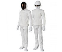 1/6 Daft Punk (White Suits ed.) R.A.H. set by Medicom