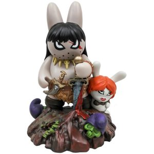 "10"" Labbit the Barbarian by Frank Kozik"