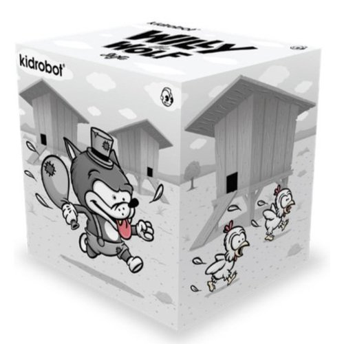 """Kidrobot 6.5"""" Willy the Wolf by Shiffa"""