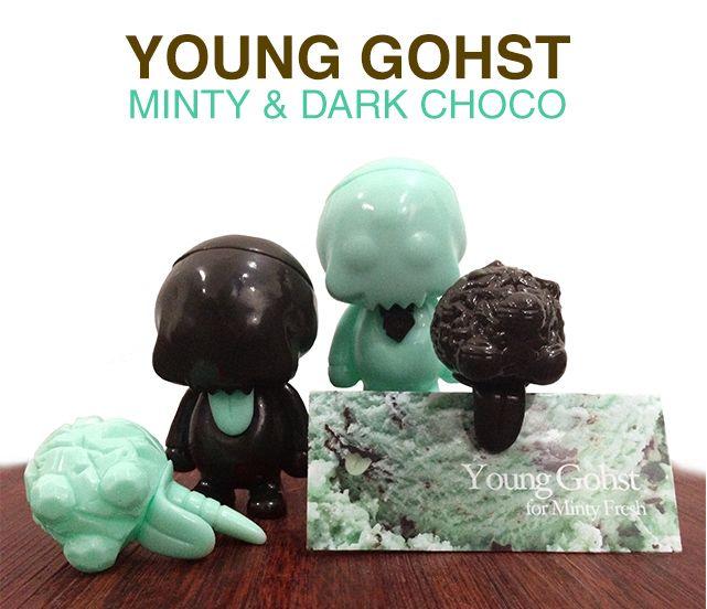 Young Gohst (Minty & Dark Choco) by FERG x Grody Shogun