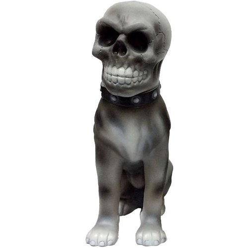 "9"" Skull Jinmenken (Grey) by Awesome Toy"