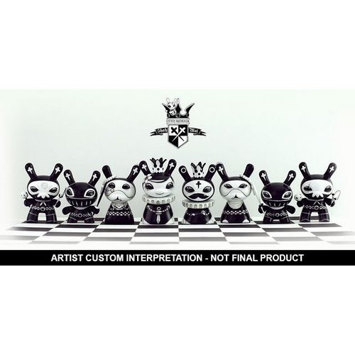 "3"" Shah Mat Dunny - Sealed Case (16 pieces) by Otto Björnik"