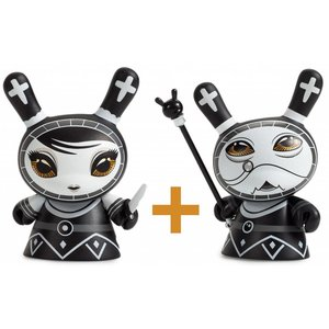 Pawn & Bishop set (Black) Shah Mat Dunny by Otto Björnik