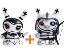 Pawn & Rook set (White) Shah Mat Dunny by Otto Björnik