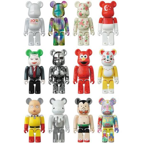 Medicom Toys Artist Secret (Seirogan - TAIKO) 1.04% - Bearbrick series 39
