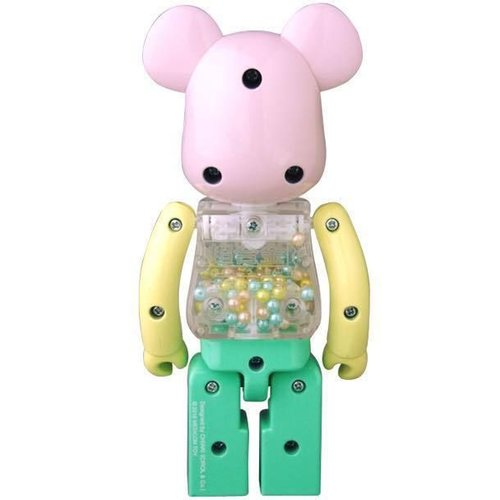 Medicom Toys 200% Super-Alloy Bearbrick - My First B@by (Pink & Green)