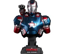 1/4 Iron Patriot Bust (Iron Man 3) by Marvel x Hot Toys