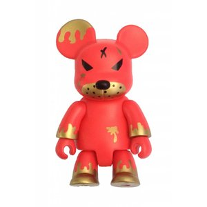 "2.5"" Redrum Bear Qee (Original Non-Smoke) by Frank Kozik"