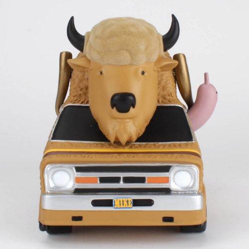 Bison Van (Burger edition) by Jeremy Fish
