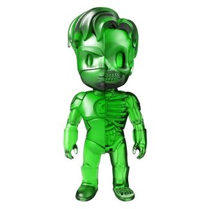 Green Lantern - Clear Green (XXRAY) by Jason Freeny