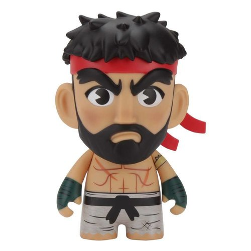 "Kidrobot 7"" Hot Ryu (Street Fighter) by Capcom"