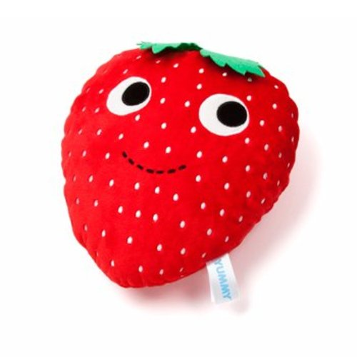 Yummy Breakfast Strawberry Plush (Medium) by Heidi Kenney