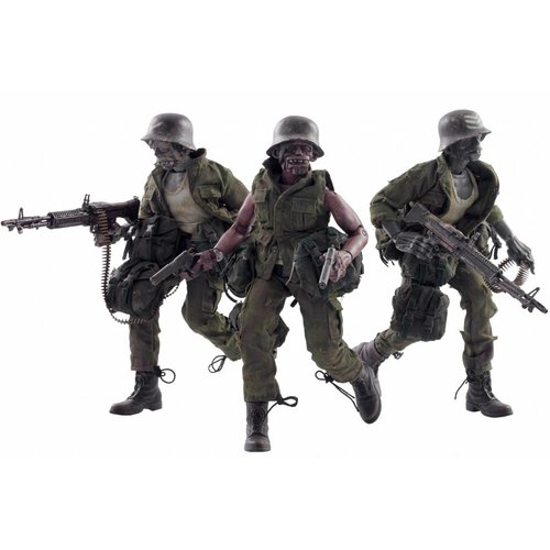 3A Toys 3AGO Dead Easy Corp set (Adventure Kartel) by Ashley Wood