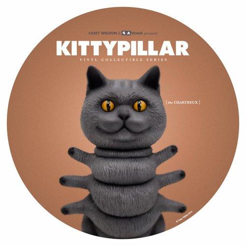 "3A Toys 8"" Kittypillar (Chartreux) ThreeA x Casey Weldon"