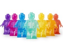 Rainbow Micro Anatomic set (7 pieces) by Jason Freeny