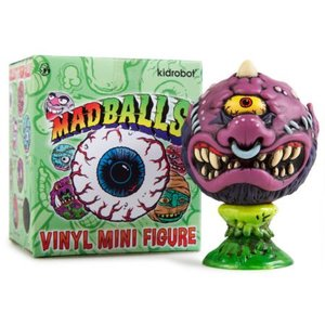 "Kidrobot 4"" Mad Ball mini Series - 1x Blindbox"