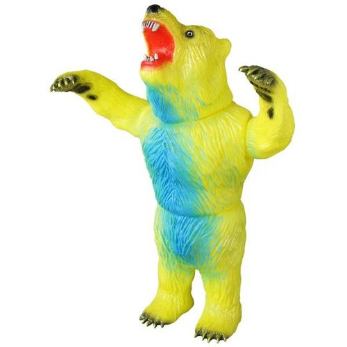 "11"" Rampaging Bear (Yellow) by Rampage Studio"