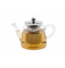 Weis 178034 Teekanne aus Glas mit Edelstahl Filter 750ml