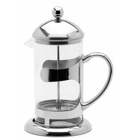 Weis 183434 Pressfilterkanne Kaffeebereiter aus Glas und Edelstahl 600ml