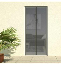 Magnet Lamellenvorhang DELUXE 100x220cm schwarz 101380105-VH