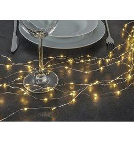 Lichterbündel Kupferdraht formbar 160 warmweissen LEDs 76639