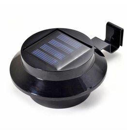 LED Solarleuchten Solarstrahler Solarlampen für Dachrinnen 2er schwarz 2488