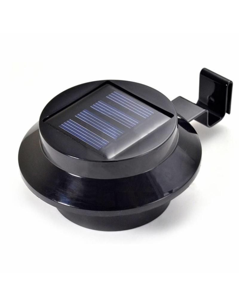 Led Solarleuchten Solarstrahler Solarlampen Für Dachrinnen 2er