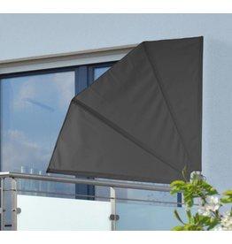 Balkon Sichtschutz Windschutz Sonnenschutz Fächer klappbar 1,2x1,2m 60252