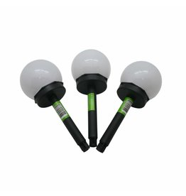 Green Arrow Solarkugel Solarleuchte Solarlampe Kugel mit Erdspiess D10xH35cm 010444