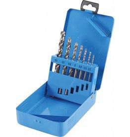 BGS technic 9580 Spiralbohrersatz Kernloch 2,5-3,3-4,2-5,0-6,8-8,5-10,2mm