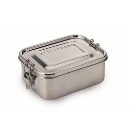 Weis 27304 Vesperdose Brotdose Lunchbox 1L aus Edelstahl mit Silikondichtung