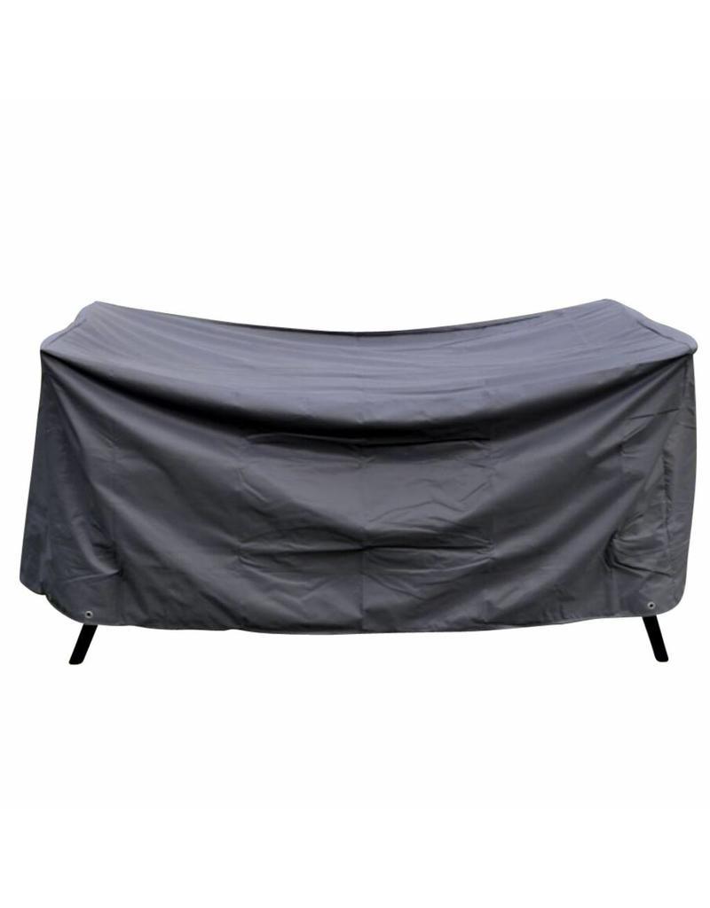 Schutzhülle Abdeckung für Sitzgruppen 230x155x80cm eckig anthrazit 61045