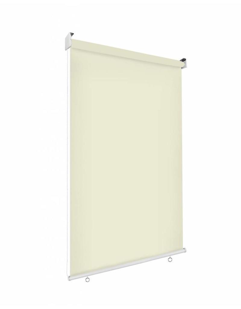 Sonnenschutz Rollo Aussenrollo Sichtschutz Balkon Creme 100x230cm