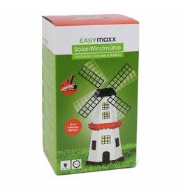 EASYmaxx Solar Windmühle Höhe ca. 33cm