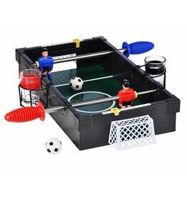 HI 66150 Tischfußball Trinkspiel 42,5x31cm mit 2 Gläsern