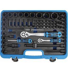BGS technic 5255 Kraft Steckschlüssel Satz 6,3 und 12,5mm 69tlg