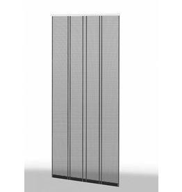 Klemm Lamellenvorhang 100x220cm Profil braun Lamelle anthrazit 101430199-VH