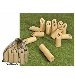 HI 66144 Finn Kubb Outdoor Spiel Geschicklichkeitsspiel aus Holz