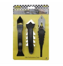 Benson Tools 11889 Silikon Fugenentferner und Schaber Set