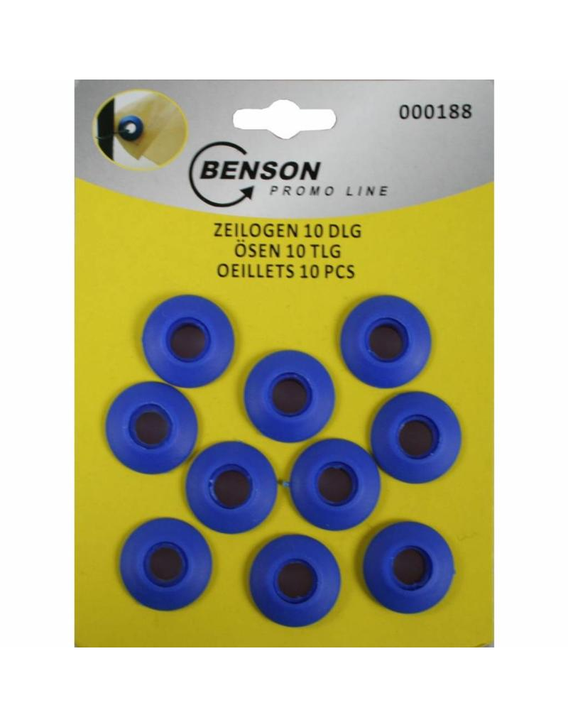 Benson Tools 00188 Ösen aus Kunststoff 10tlg für Planen