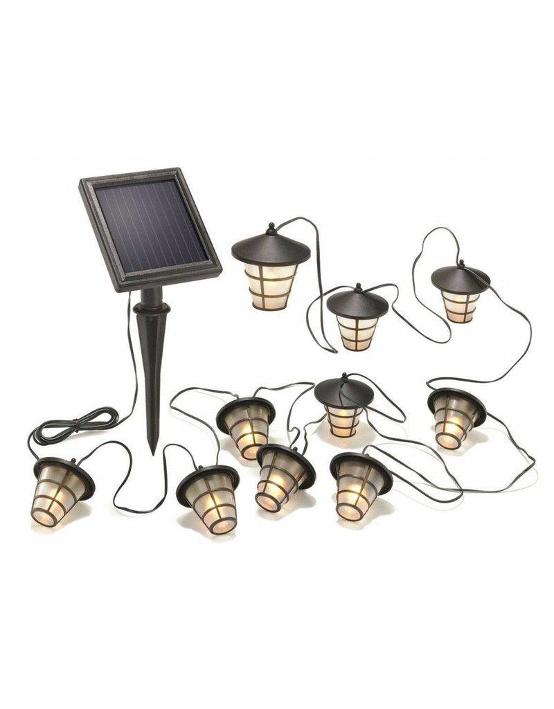 Esotec 102152 Solar LED Lichterkette ASIA Style 10 Lampen warmweiss 3000K