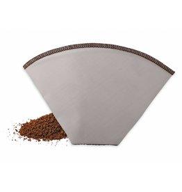 Weis 18952 Kaffee Dauerfilter Kaffeedauerfilter Edelstahlgewebe Gr. 2