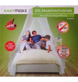 EASYMAXX Moskitonetz ideal für Doppelbetten mit 22 Magneten 034792