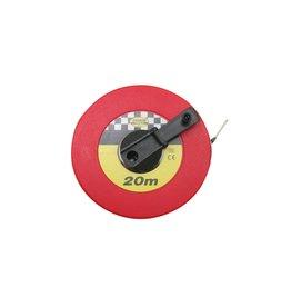 Benson Tools 11715 Rollbandmaß Bandmaß 20m mit Handkurbel