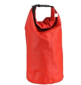 Trockentasche 10 Liter schützt Ihre Wertgegenstände gegen Wasser rot