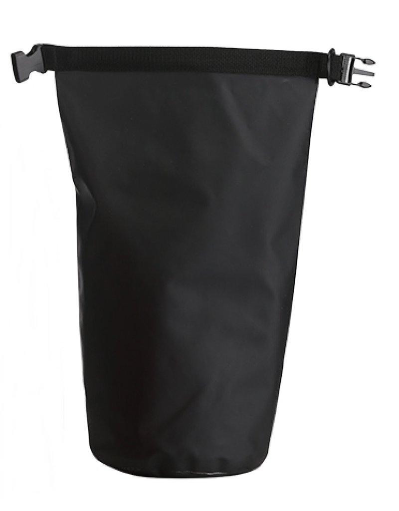 Trockentasche 10 Liter schützt Ihre Wertgegenstände gegen Wasser schwarz