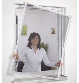 Fliegengitter Fensterbausatz BASIC 100x120cm weiss 101550201-VH