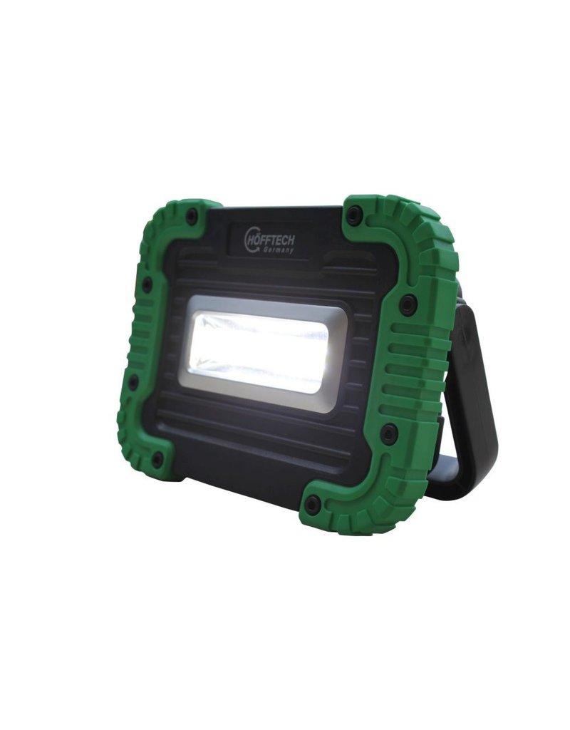 Höfftech 012247 Arbeits-Scheinwerfer Bauleuchte COB Batteriebetrieb